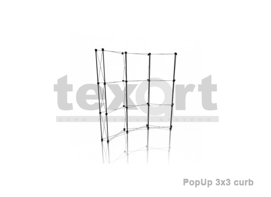 Sistem Pop-Up Spider 3x3 curb