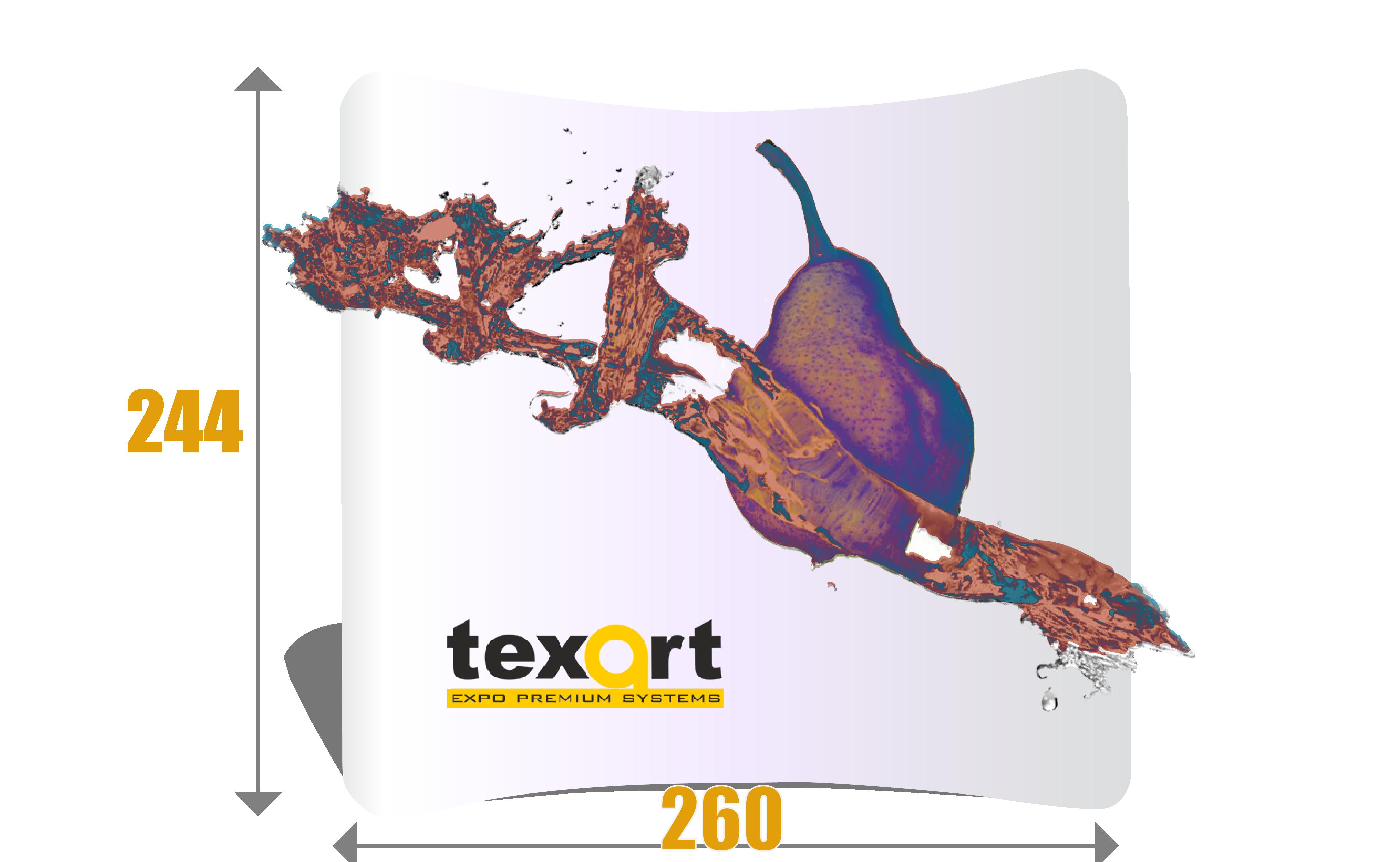 pop-up textil curb 260